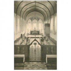 carte postale ancienne KAIN. Le saulchoir de l'Eglise 1928 et ses Orgues