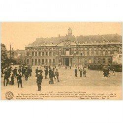 carte postale ancienne LIEGE. Palais des Princes Evêques 1923