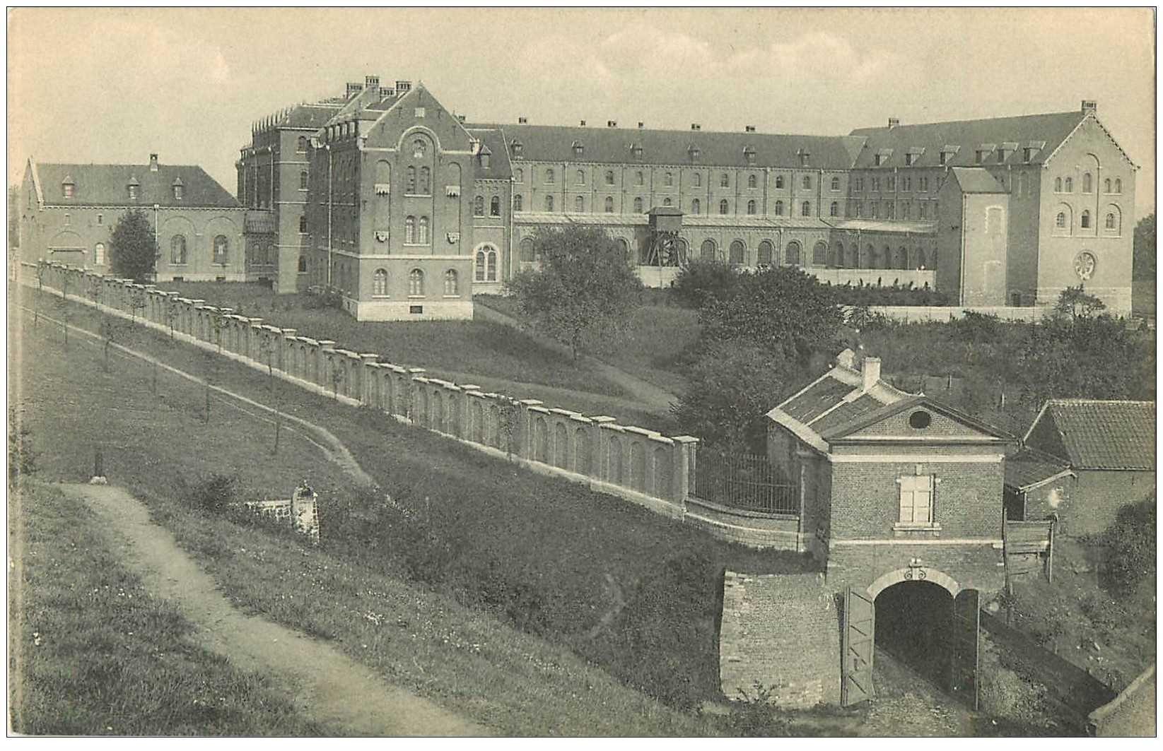 carte postale ancienne LOUVAIN LEUVEN. Abbaye Mont Cesar 1913