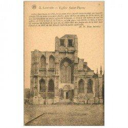 carte postale ancienne LOUVAIN LEUVEN. Eglise Saint Pierre