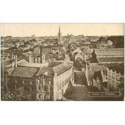 carte postale ancienne LOUVAIN LEUVEN. Panorama