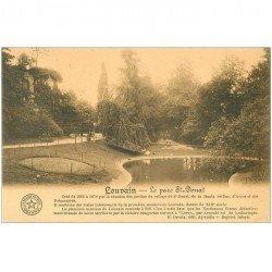 carte postale ancienne LOUVAIN LEUVEN. Parc Saint Donat