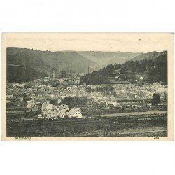carte postale ancienne MALMEDY. Total vue de la Ville 1915
