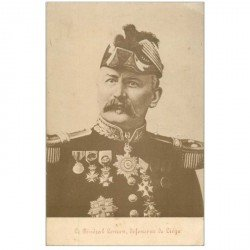 carte postale ancienne MILITAIRES. Le Général Leman défenseur de Liège