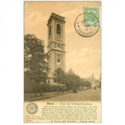 carte postale ancienne MONS. Tour Val des Ecoliers 1911 pour Tonkin