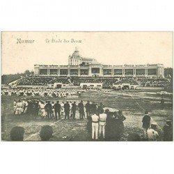 carte postale ancienne NAMUR. Le Stade des Jeux