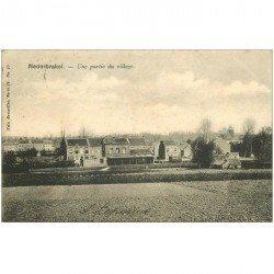 carte postale ancienne NEDERBRAKEL. Partie du Village 1902