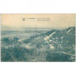 carte postale ancienne OSTENDE OOSTENDE. Flore des Dunes