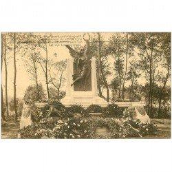 carte postale ancienne OSTENDE OOSTENDE. Monument 23° de Ligne 1924