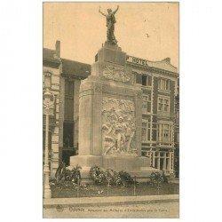 carte postale ancienne OSTENDE OOSTENDE. Monument aux Militaires et Civils tombés pour la Patrie