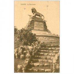 carte postale ancienne TROOZ. Le Monument 1924