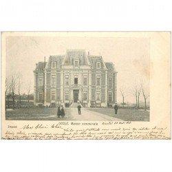 carte postale ancienne UCCLE. Maison Communale 1903