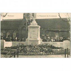 carte postale ancienne WENDUYNE. Monument des Combattants