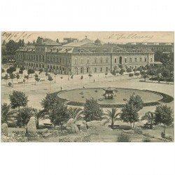 carte postale ancienne BARCELONA. Palacio Real del Parque 1906