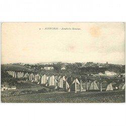 carte postale ancienne Espagne. ALGECIRAS. Acueductos Romanos