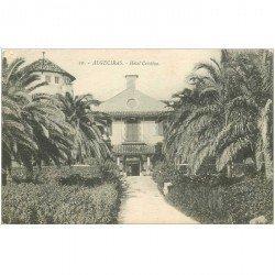 carte postale ancienne Espagne. ALGECIRAS. Hotel Cristina