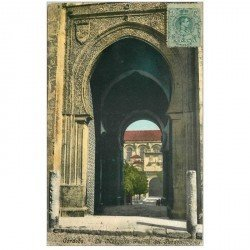 carte postale ancienne Espagne. CORDOBA. Mezquita Puerta del Perdon