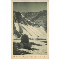 carte postale ancienne Espagne. El Tolosa refugio en Las Cuevas