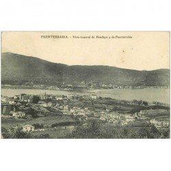 carte postale ancienne Espagne. FUENTERRABIA. Hendaya 1909