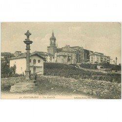 carte postale ancienne Espagne. FUENTERRABIA. Vue Générale