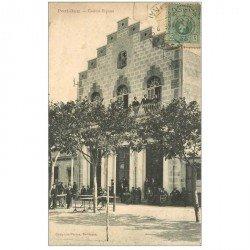 carte postale ancienne ESPAGNE. Port Bou. Casino Espana vers 1922...