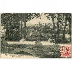 carte postale ancienne Espagne. PUIGCERDA. Tomada desde casa Paraire 1931