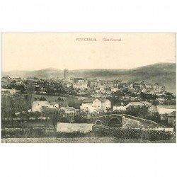 carte postale ancienne Espagne. PUIGCERDA. Vista general