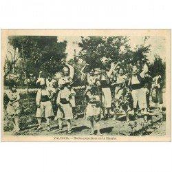 carte postale ancienne ESPAGNE. Valencia. Bailes populares en la Huerta