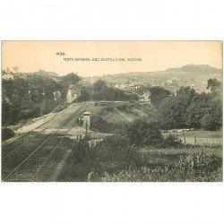 carte postale ancienne Espagne. VIGO. Castillo del Castro