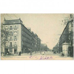 carte postale ancienne MADRID. Calle de Serrano 1903
