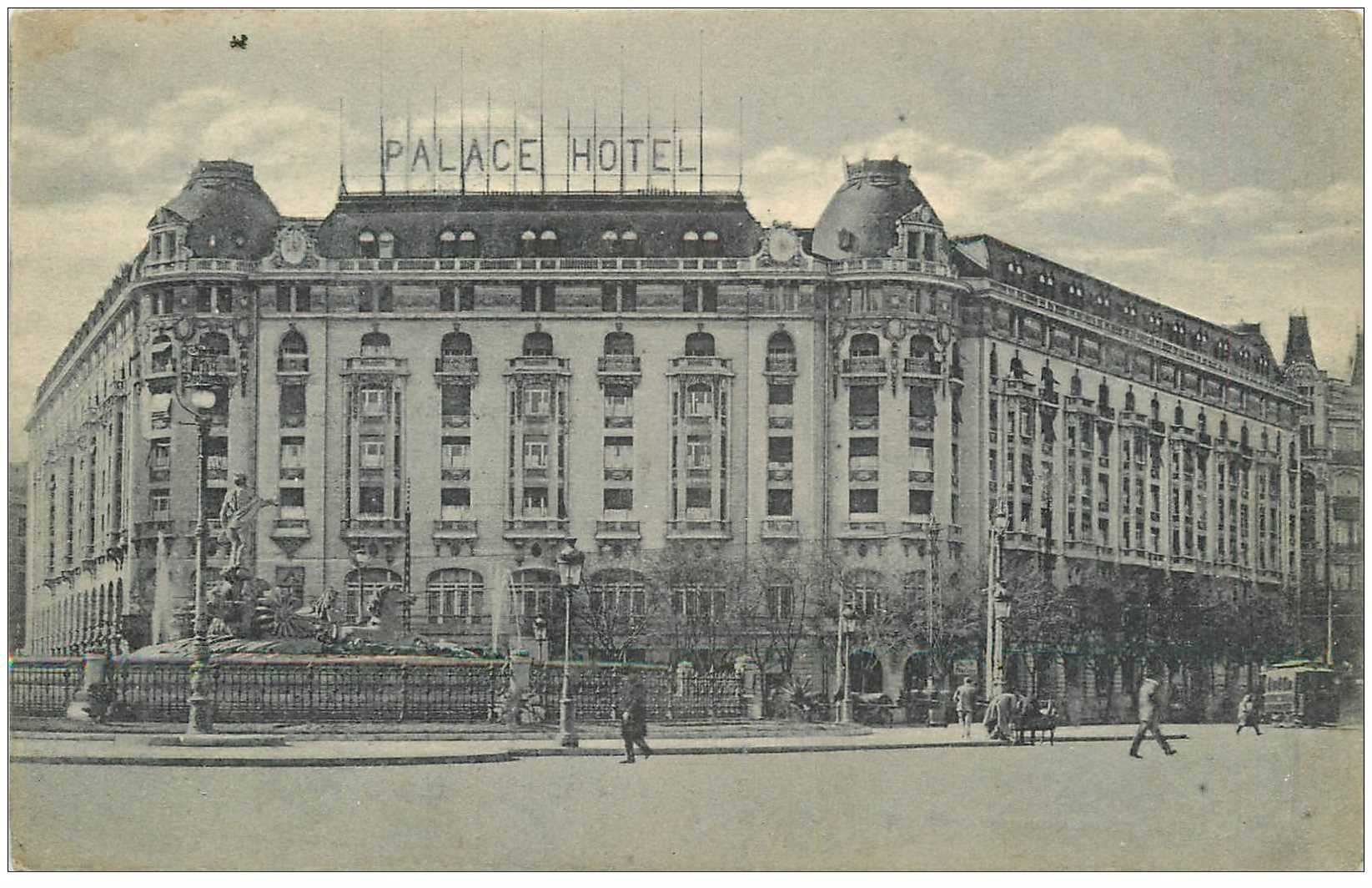 carte postale ancienne MADRID. Palace Hotel