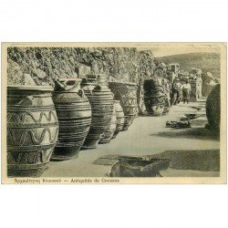 carte postale ancienne GRECE. Antiquités de Cnossos