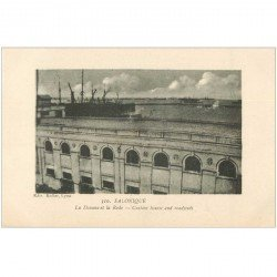 carte postale ancienne GRECE. Salonique Salonica. La Douane et la Rade