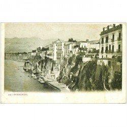 carte postale ancienne Italia Italie. SORRENTO vers 1900