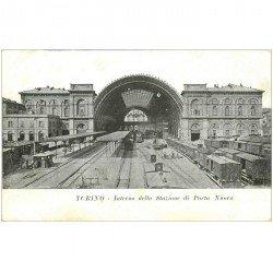 carte postale ancienne Italia Italie. TORINO. Stazione di Porta Niova