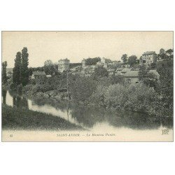 carte postale ancienne 14 SAINT-AUBIN. Le Hameau Panier