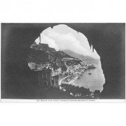 carte postale ancienne ITALIA. Amalfi. Grotta di S. Cristofororo