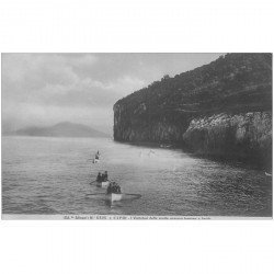 carte postale ancienne ITALIA. Capri. Grotta azzurra