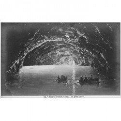 carte postale ancienne ITALIA. Capri. Grotta azzurra sotto