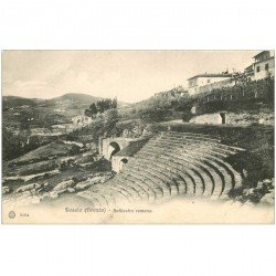carte postale ancienne ITALIA. Fiesole Anfiteatro romano
