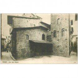 carte postale ancienne ITALIA. Firenze. Casa degli Alighieri