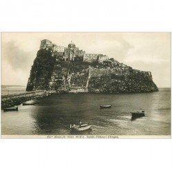 carte postale ancienne Italia. ISCHIA. Castello d'Alfonso d'Aragona