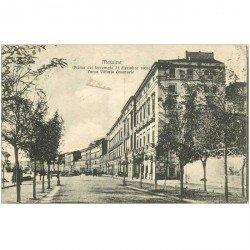 carte postale ancienne Italia. MESSINA. Corso Vittorio Emanuele 1912