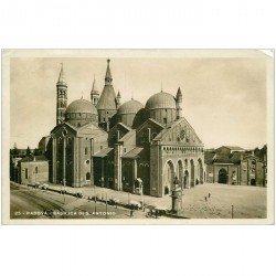 carte postale ancienne ITALIA. Padova. Basilica di San Antonio 1938 Photo Cpa