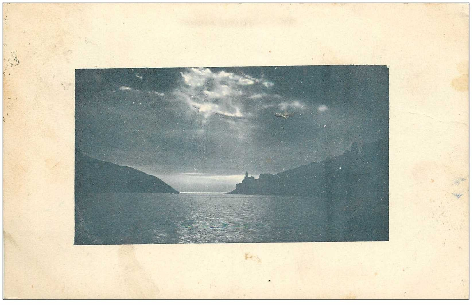 carte postale ancienne Italia. PORTO MAURIZIO 1916 timbre taxe