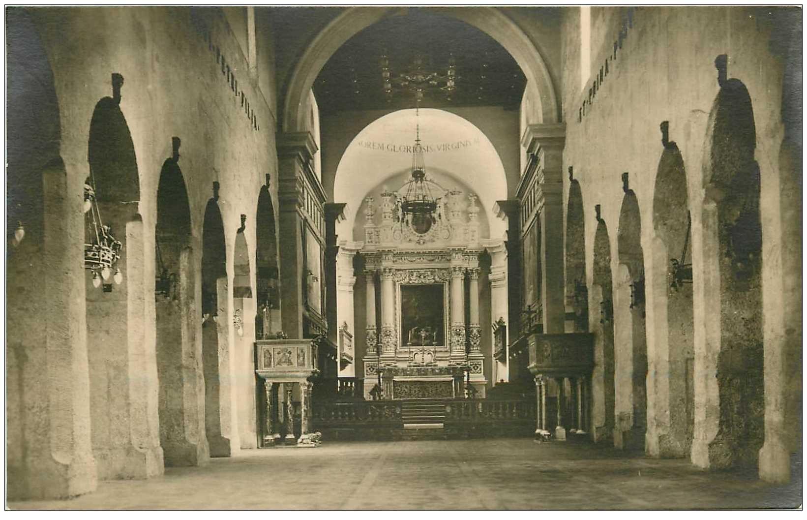 carte postale ancienne ITALIA. Siracusa. Cattedrale Tempio di Athena