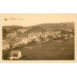 carte postale ancienne Luxembourg. HOUFFALIZE. Panorama