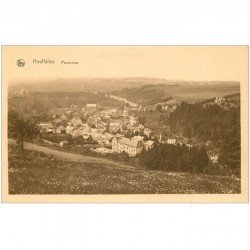 carte postale ancienne Luxembourg. HOUFFALIZE. Panorama ter