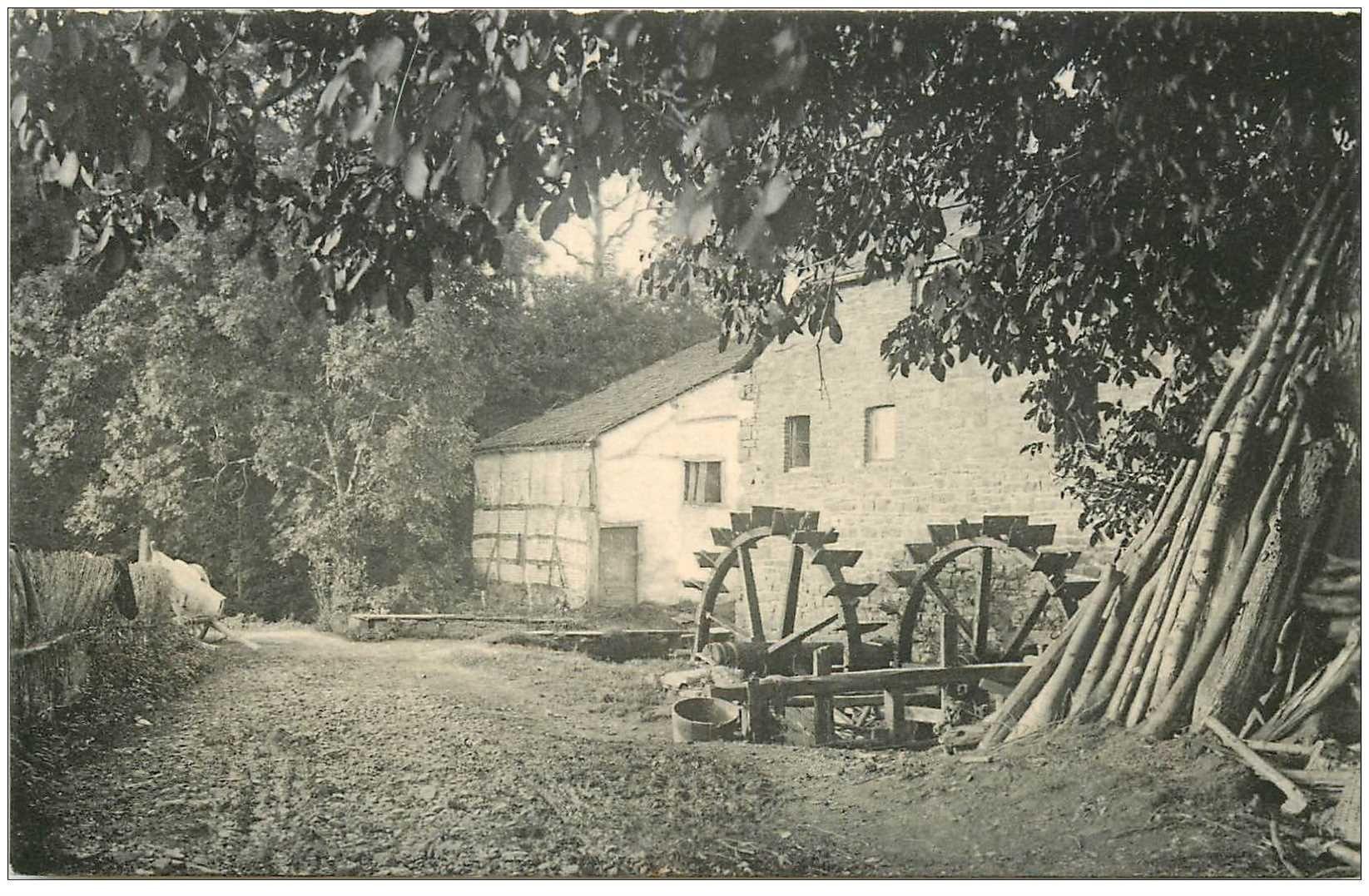 carte postale ancienne Luxembourg. LAROCHE. Moulin de Bardonwez
