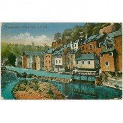 carte postale ancienne LUXEMBOURG. Partie dans le Grund 1929